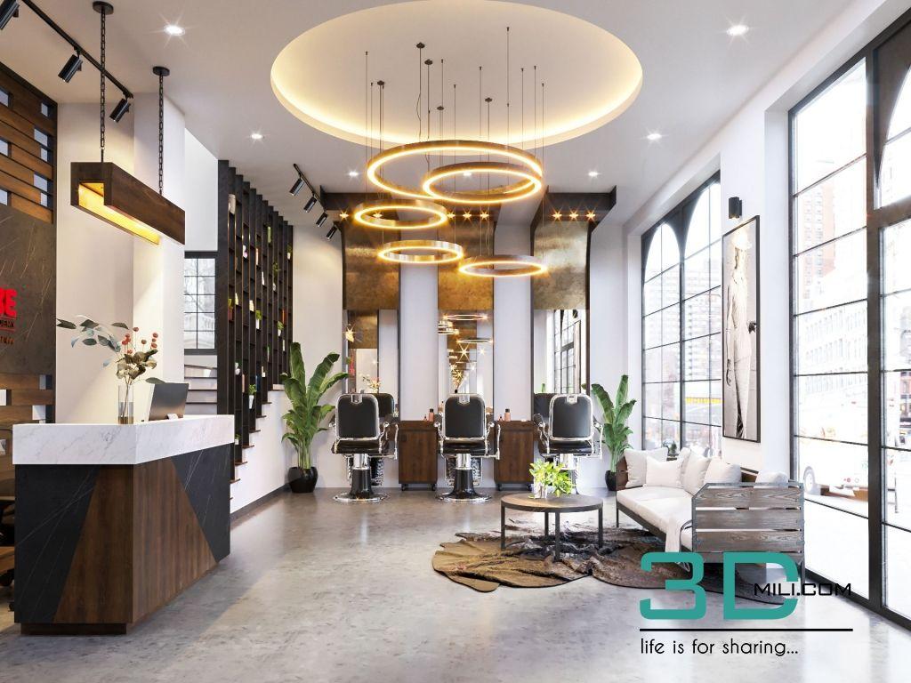 01. 3D Scene Salon – Corona By Doan Nguyen   Interior, Home ... dedans Salon De Jardin Corona