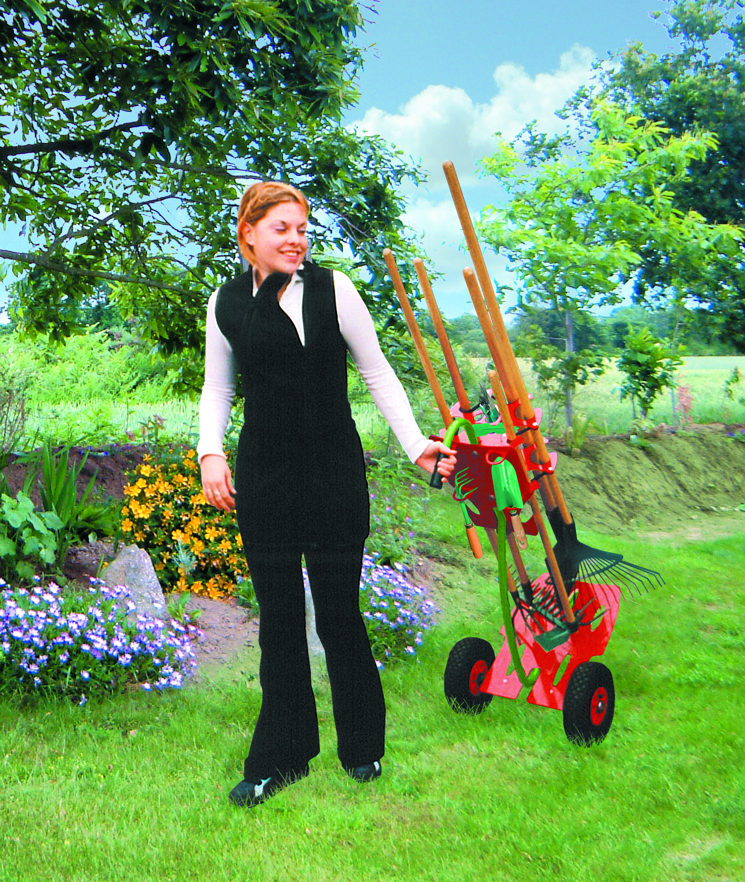 10 Astuces Pour Ranger Ses Outils De Jardin En Toute ... concernant Porte Outils De Jardin