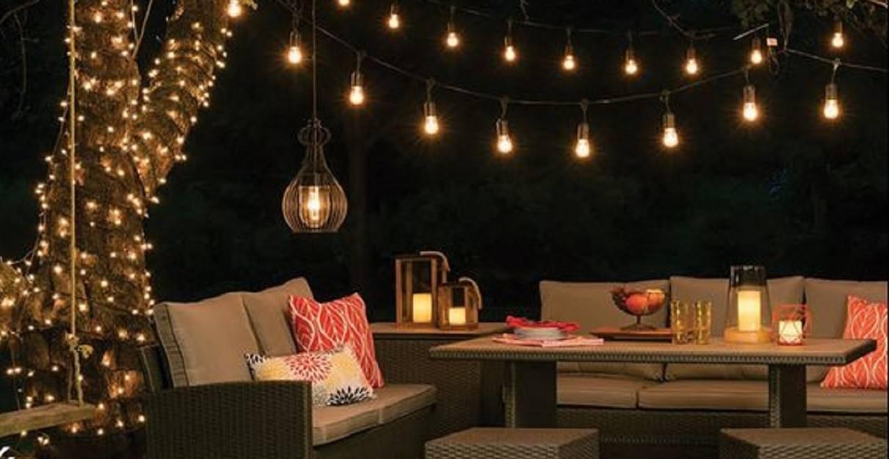 10 Erreurs À Éviter Dans L'éclairage De Sa Terrasse - Laurie ... à Salon De Jardin Lumineux