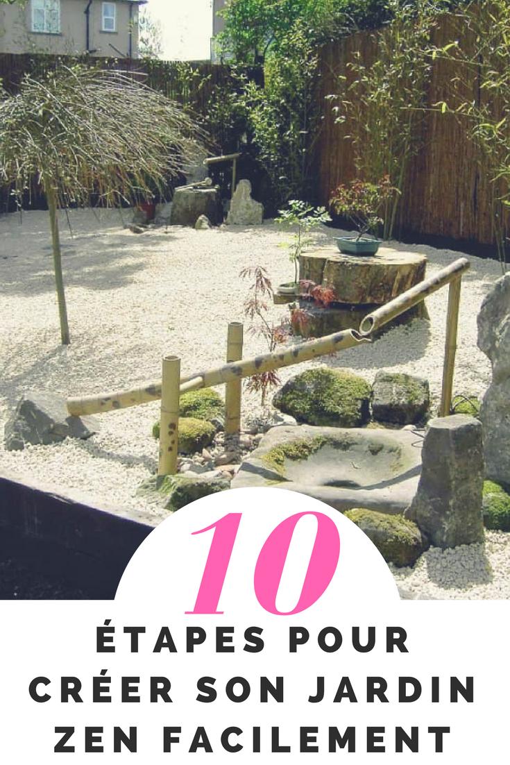 10 Étapes Pour Avoir Son Propre Jardin Zen À La Maison ... avec Creer Un Petit Jardin Zen