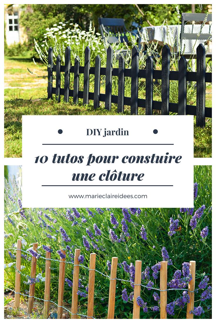 10 Idées Pour Fabriquer Soi Même Une Clôture De Jardin ... encequiconcerne Barriere Pour Jardin