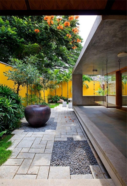 10 Merveilleuses Idées Pour Décorer Votre Jardin Avec Des ... dedans Amenagement Jardin Avec Pierres