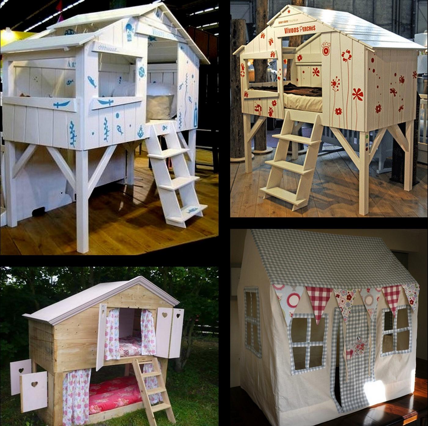 100+ [ Plan Maison Enfant ] | Aménagement Devanture Maison ... destiné Cabane De Jardin Enfant Bois