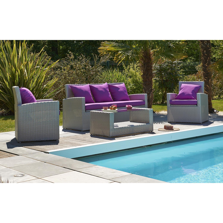 100+ [ Table De Jardin Resine ] | Mobilier De Jardin En ... avec Salon De Jardin Tressé Leroy Merlin