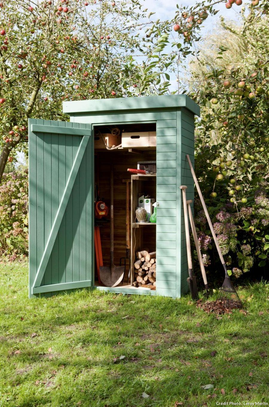 12 Idées De Rangement Pour Les Outils De Jardin | Outdoor ... intérieur Armoire De Jardin Leroy Merlin