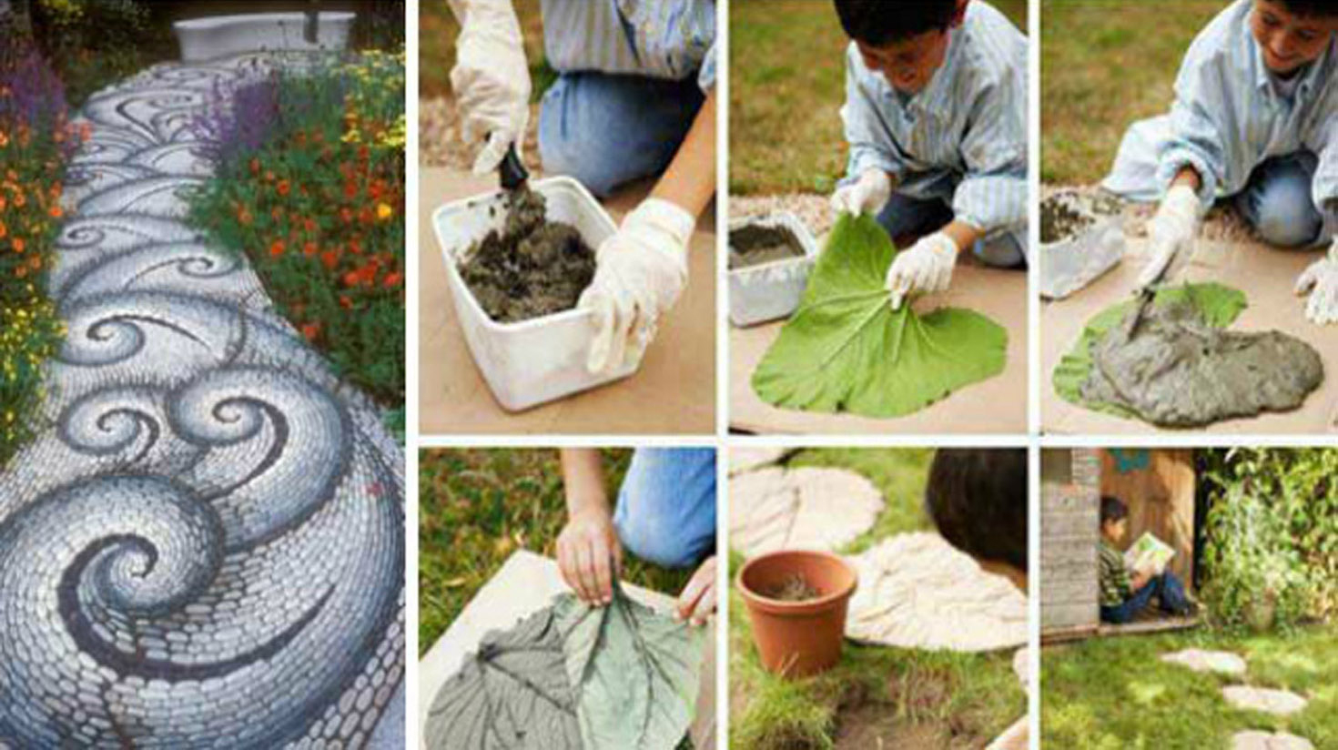 12 Idées Pour Aménager Vos Allées De Jardin ! | Diy Seloger intérieur Modele De Jardin Avec Galets