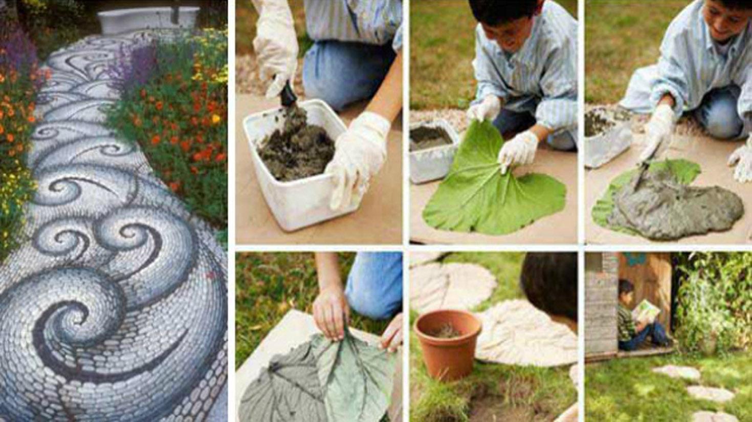 12 Idées Pour Aménager Vos Allées De Jardin ! | Diy Seloger tout Allée De Jardin Pas Cher