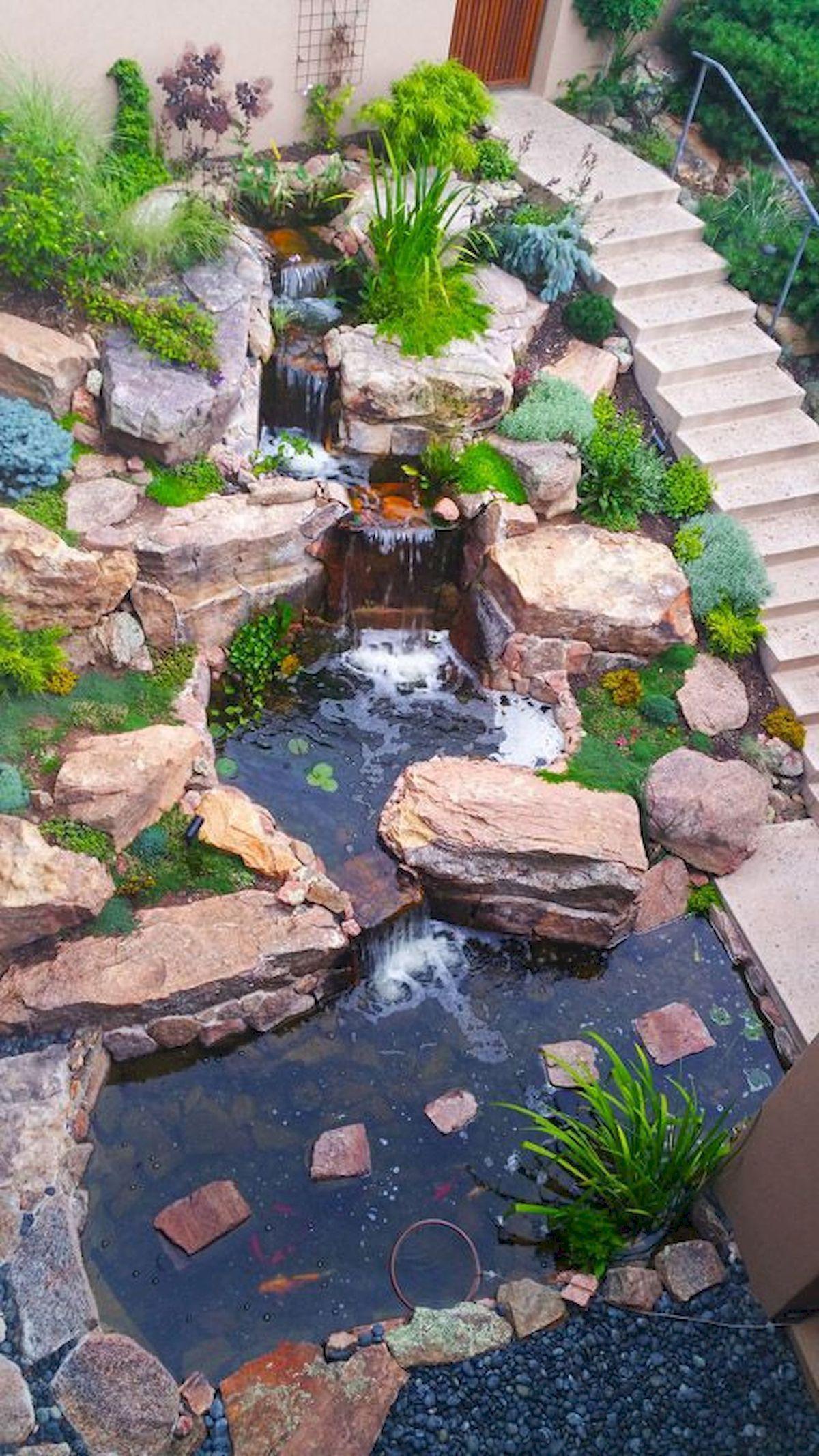 14 Clever Ideas How To Improve Backyard Pond Ideas With ... tout Bassin De Jardin Préformé