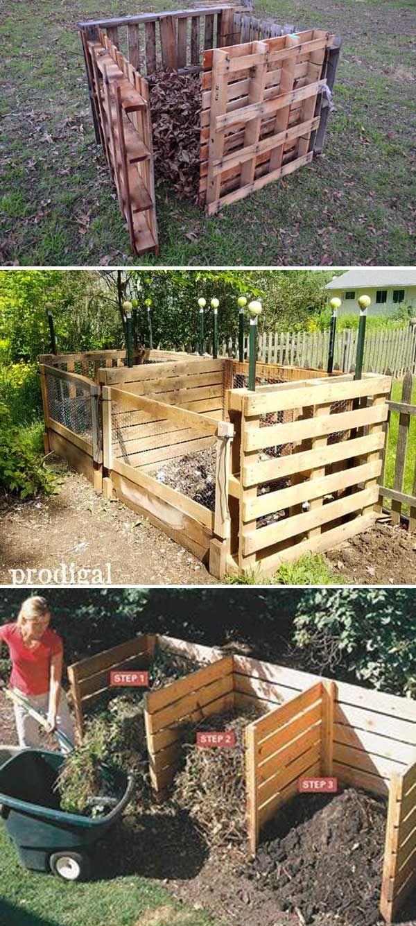 15 Easy Compost Bins You Can Diy On Very Low Budget ... intérieur Composteur De Jardin