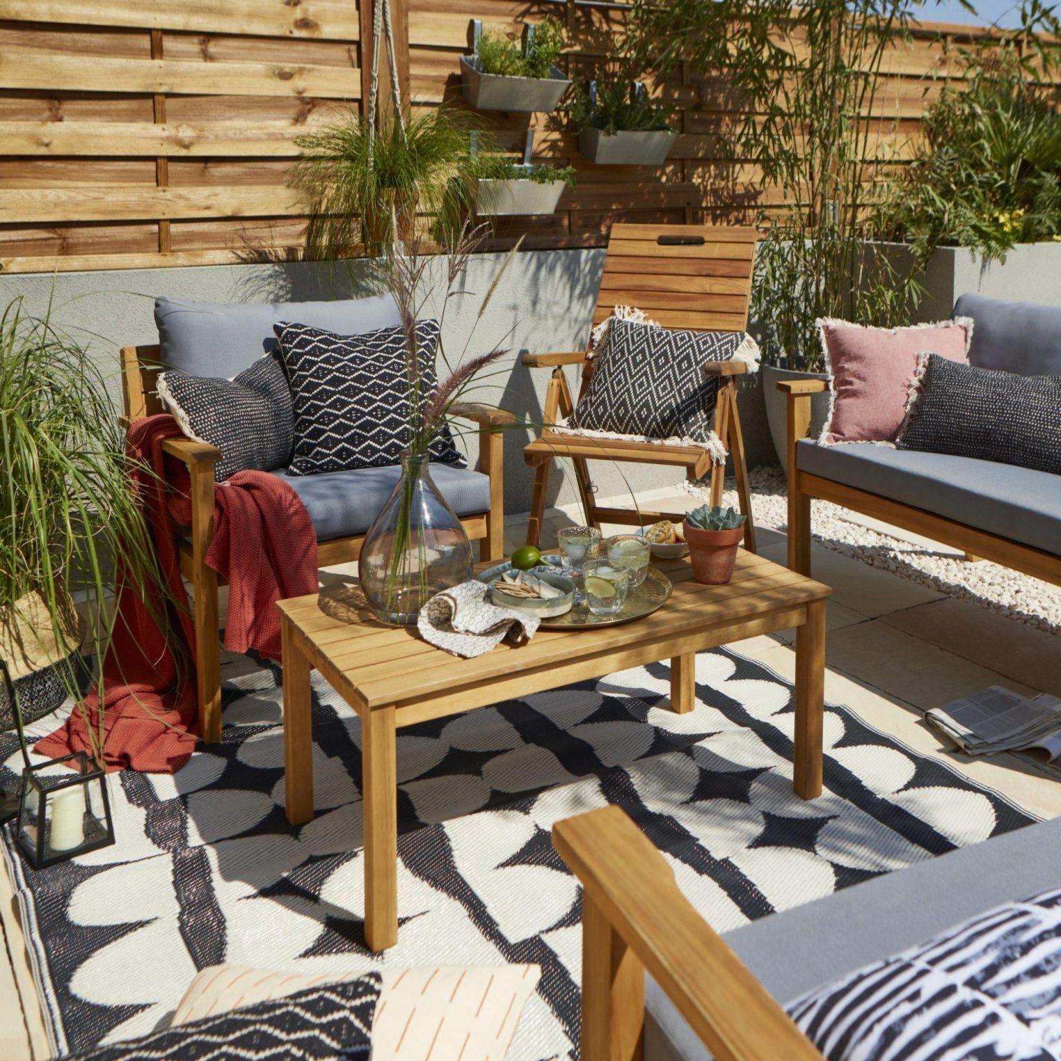 15 Salons De Jardin Quali À Prix Mini ! | Agrément De Jardin ... avec Petit Salon De Jardin Pas Cher