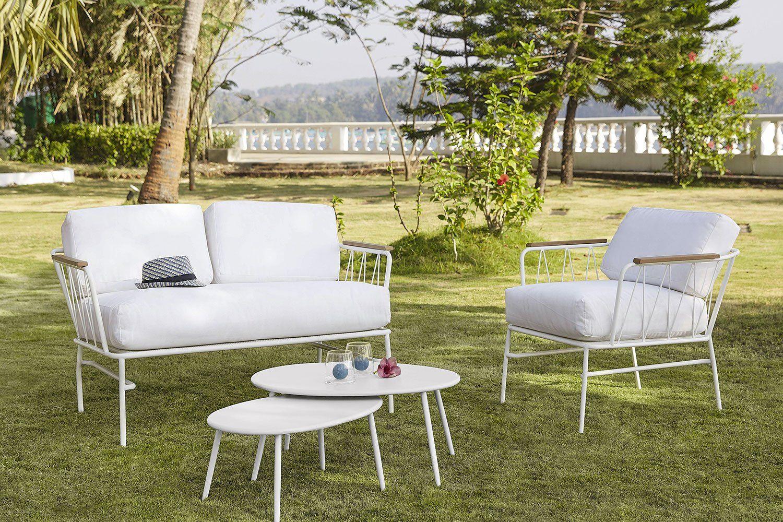 15 Salons De Jardin Quali À Prix Mini ! | Jardin Maison ... destiné Canapé De Jardin Pas Cher