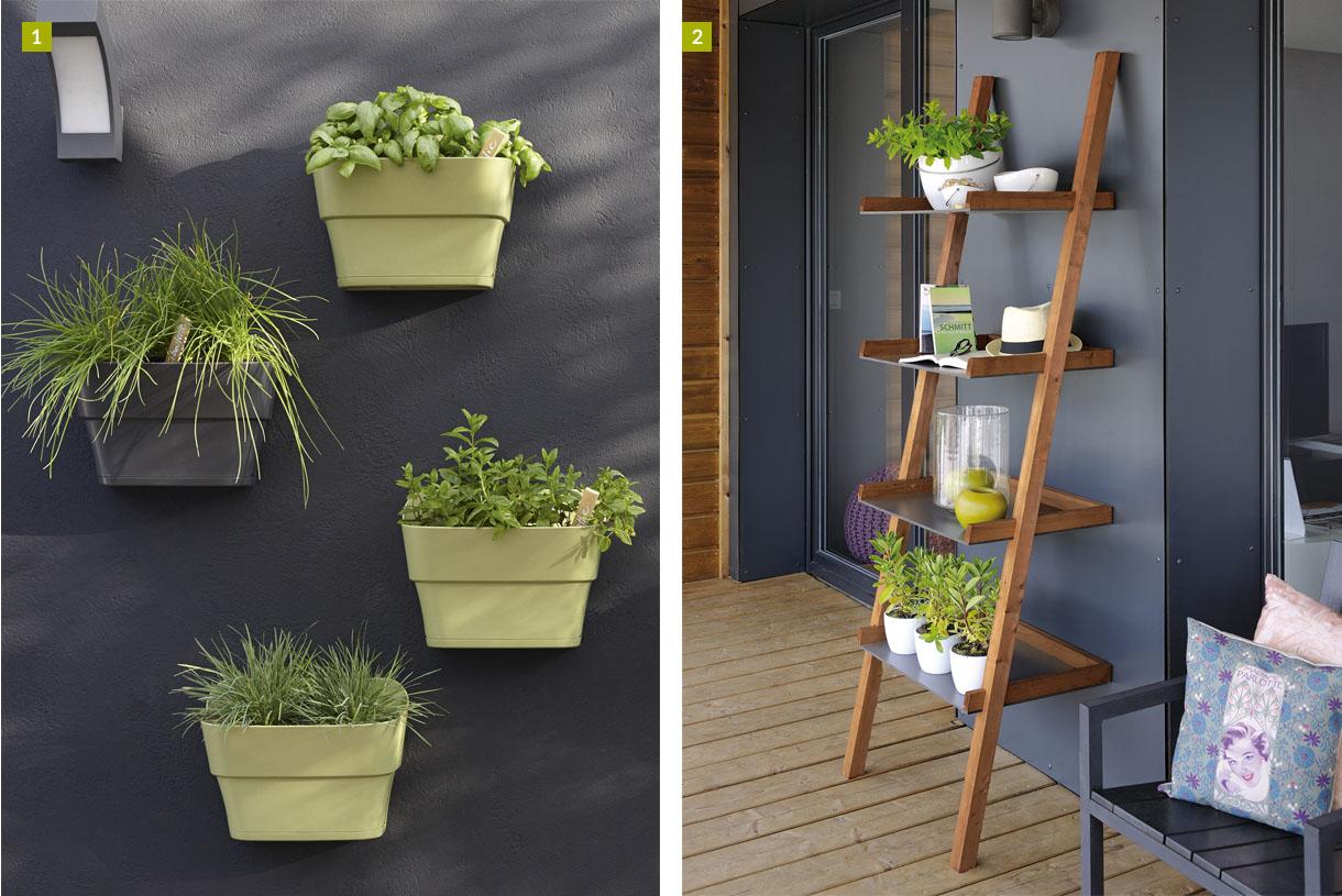 15 Solutions Pour Créer Un Jardin Vertical - Détente Jardin destiné Etageres Jardin Pour Plantes