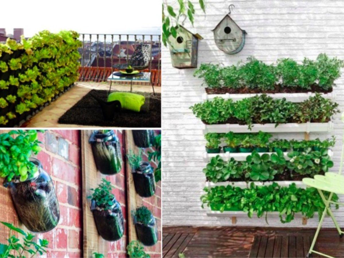 16 Idées Pour Créer Un Petit Potager Sur Son Balcon destiné Faire Un Jardin Sur Son Balcon