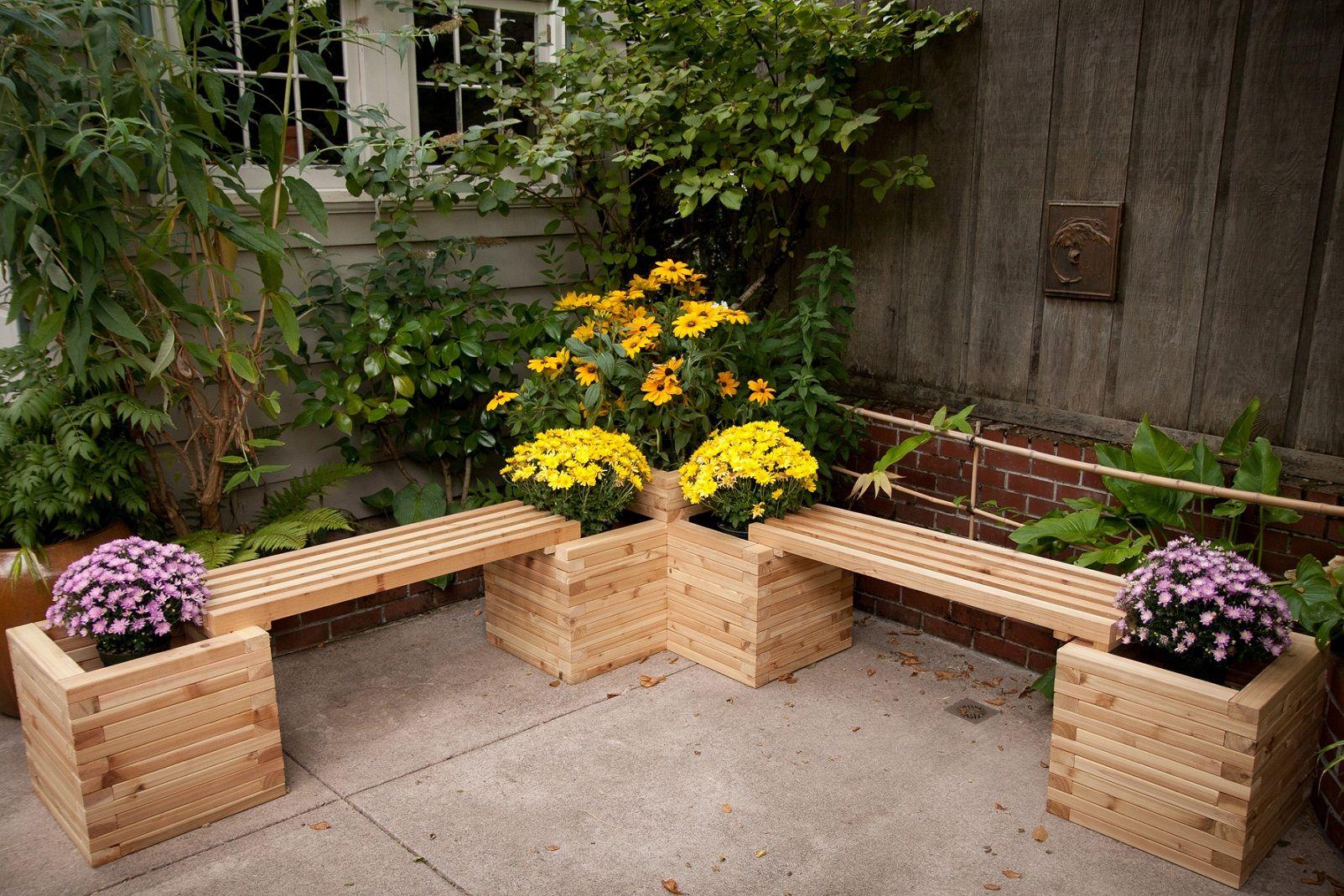 17 Fascinating Diy Seating Elements To Enhance Your Outdoor ... destiné Petit Banc De Jardin