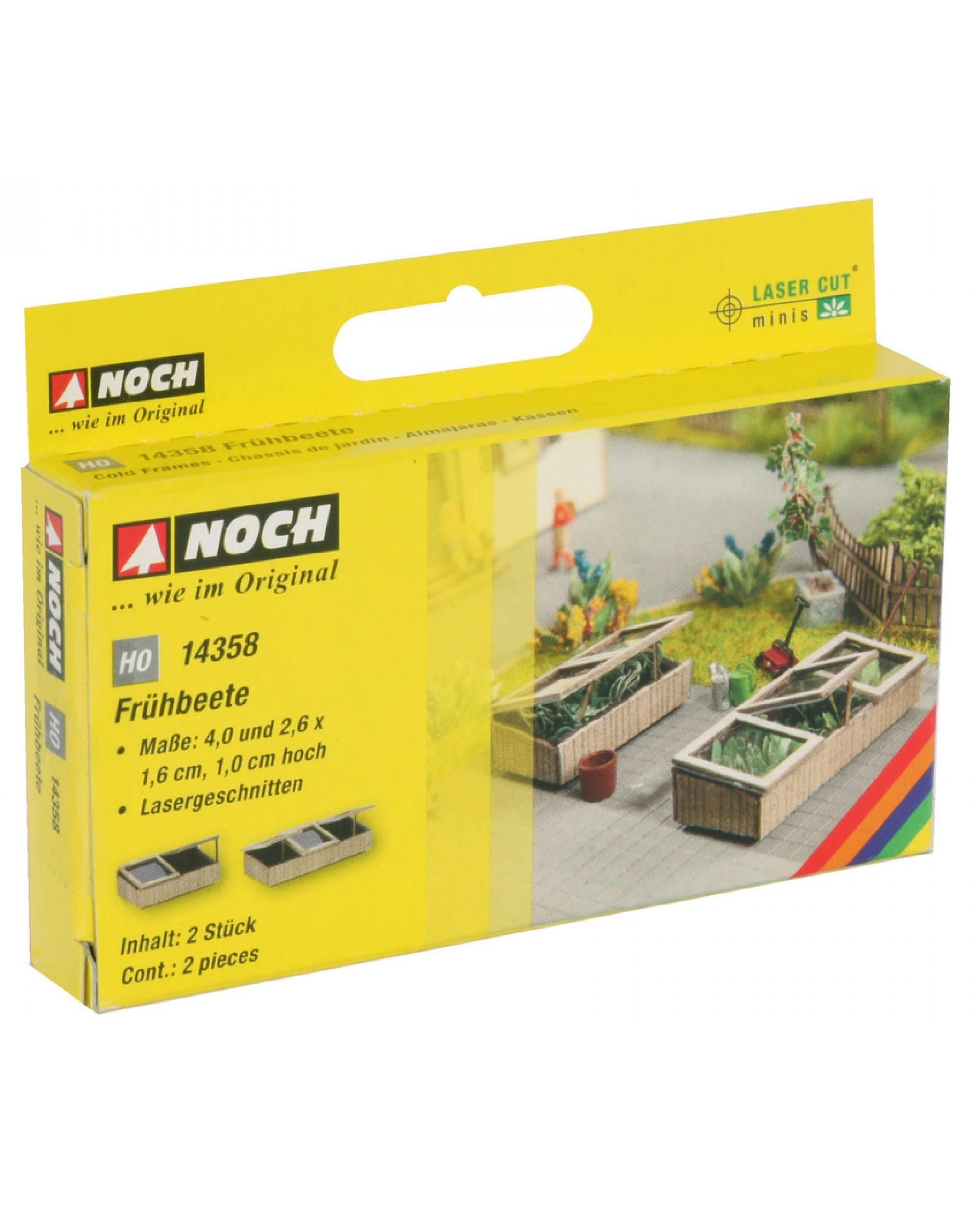 2 Petits Chassis De Jardin En Kit À Monter De Dimensions 2,6X1,6X1 Cm avec Chassis De Jardin