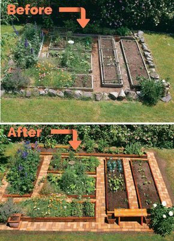 20 Inspiring Homestead Farm Garden Layout And Design Ideas ... destiné Etiquette Jardin
