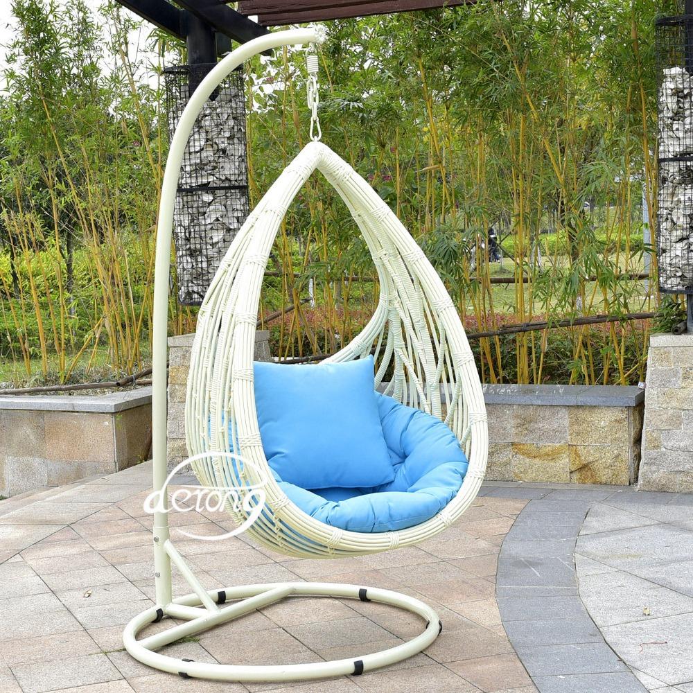 2016 En Plein Air En Rotin Suspendus Chaise D'oeufs Meubles Pe Rotin  Fauteuil Suspendu Jardin Loisirs Swing pour Oeuf Suspendu Jardin