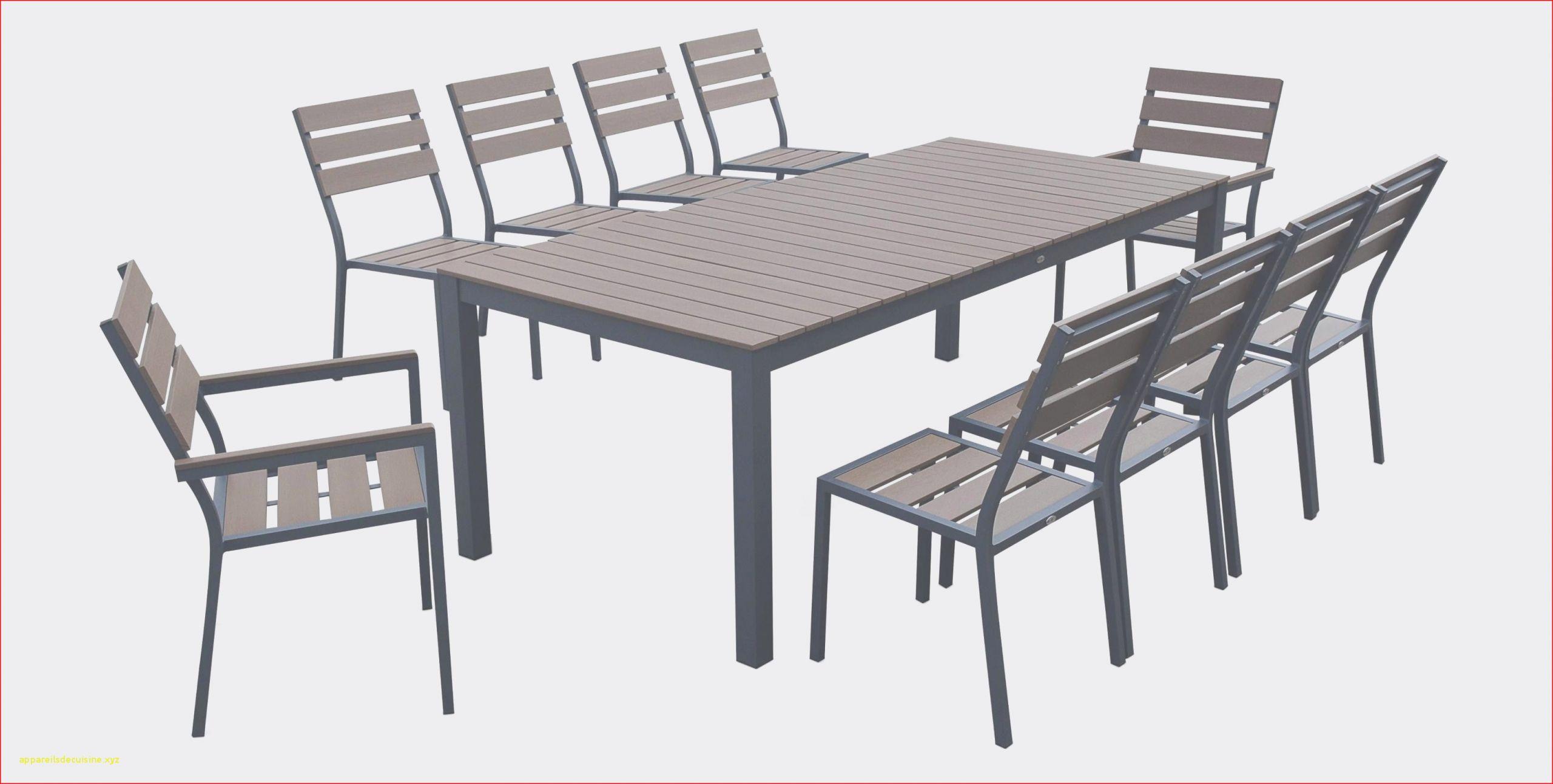 22 Luxe Table Exterieur | Salon Jardin intérieur Table De Jardin Carrée 8 Personnes