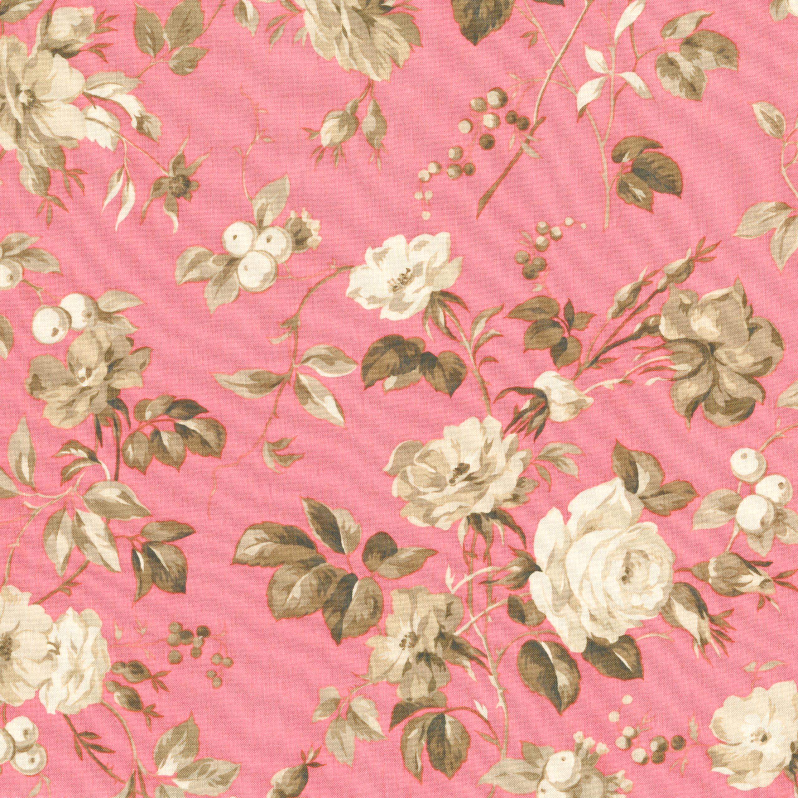 2730-003 Jardin Gris - Crepe Suzette - Amaryllis Fabric ... encequiconcerne Amaryllis De Jardin