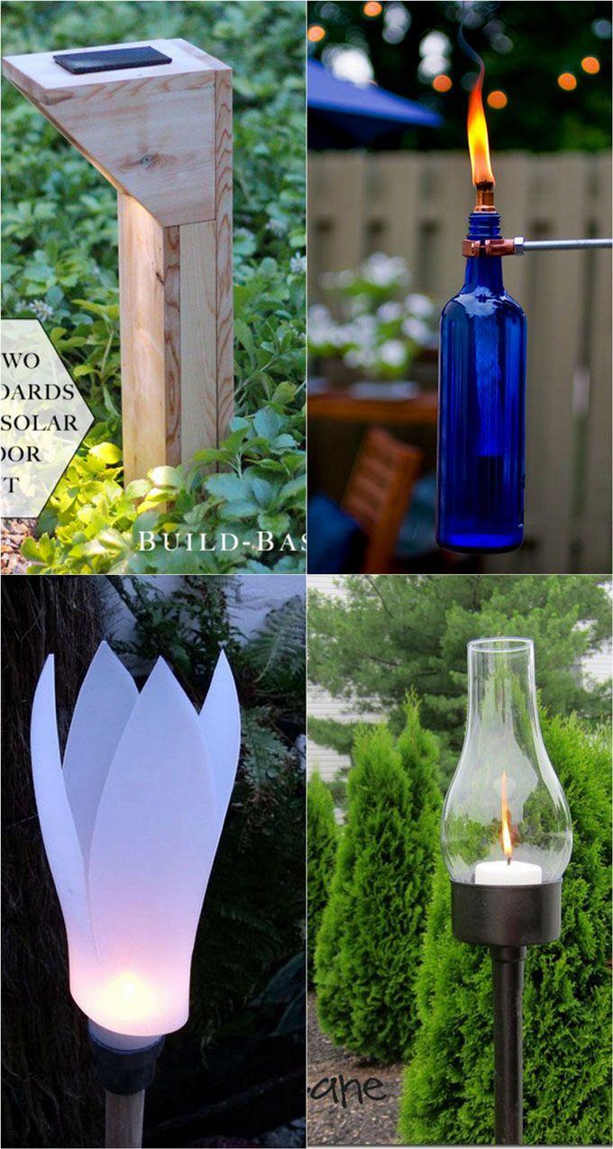 28 Stunning Diy Outdoor Lighting Ideas ( & So Easy ... encequiconcerne Torches De Jardin