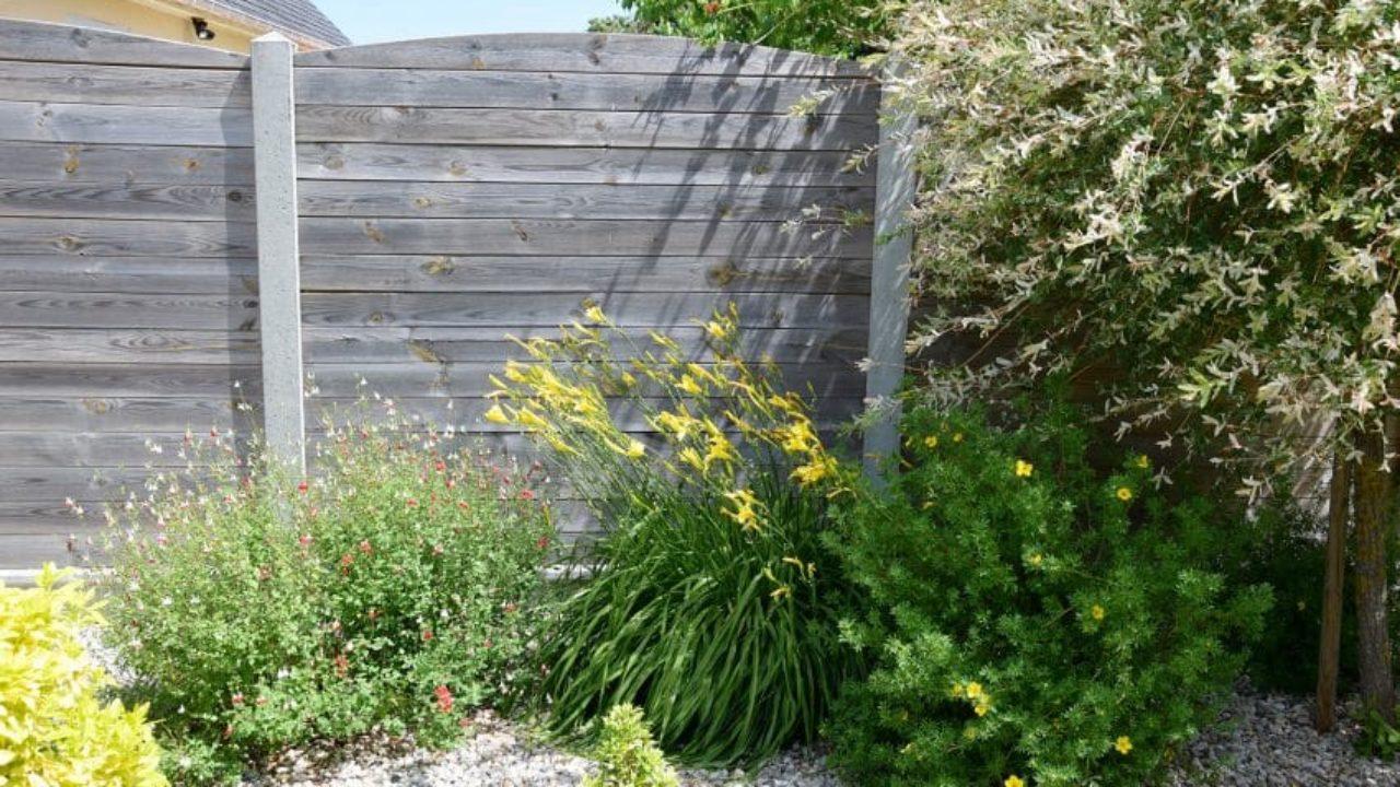 3 Clôtures De Jardin Pas Cher En 2020 (Je Préfère La 2E) à Treillis Bois Jardin