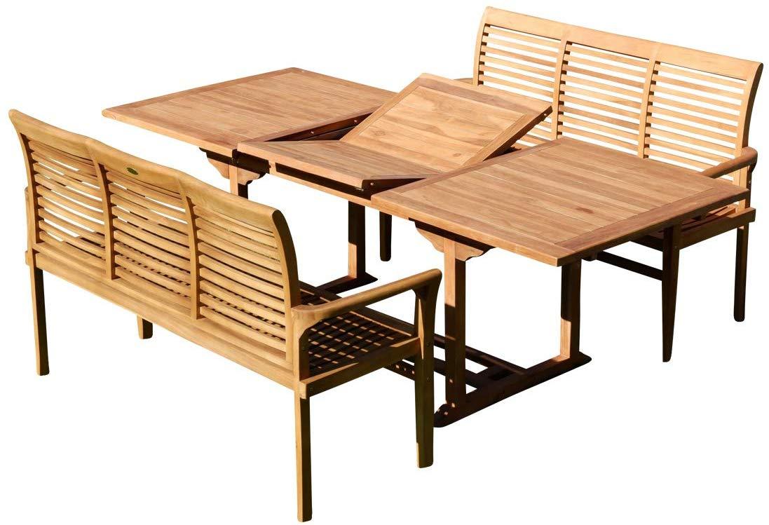 31 Élégant Table Jardin En Teck | Salon Jardin pour Salon De Jardin En Teck Pas Cher