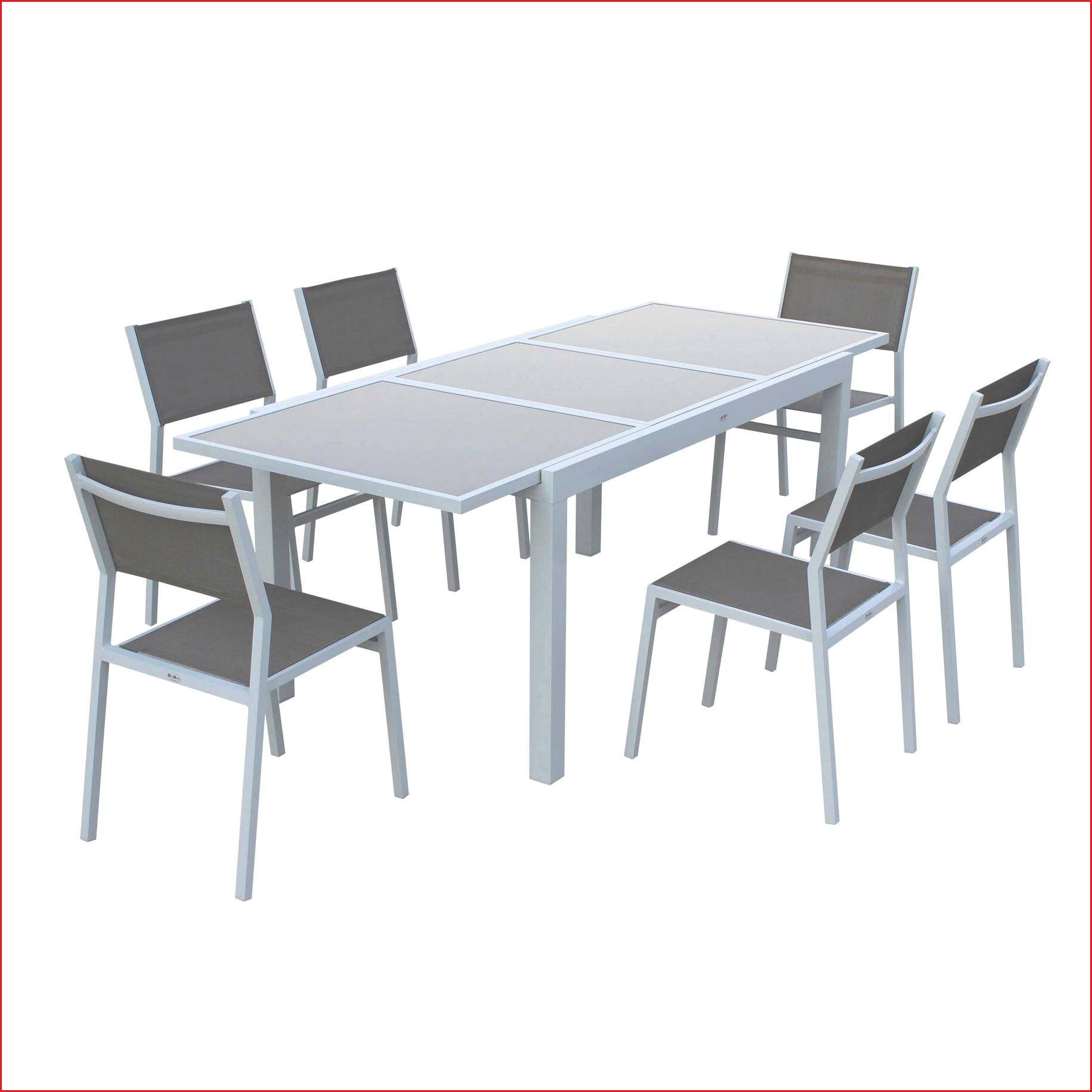 33 Génial Ensemble Table Et Chaise De Jardin Aluminium ... dedans Chaise Bistrot Aluminium Jardin