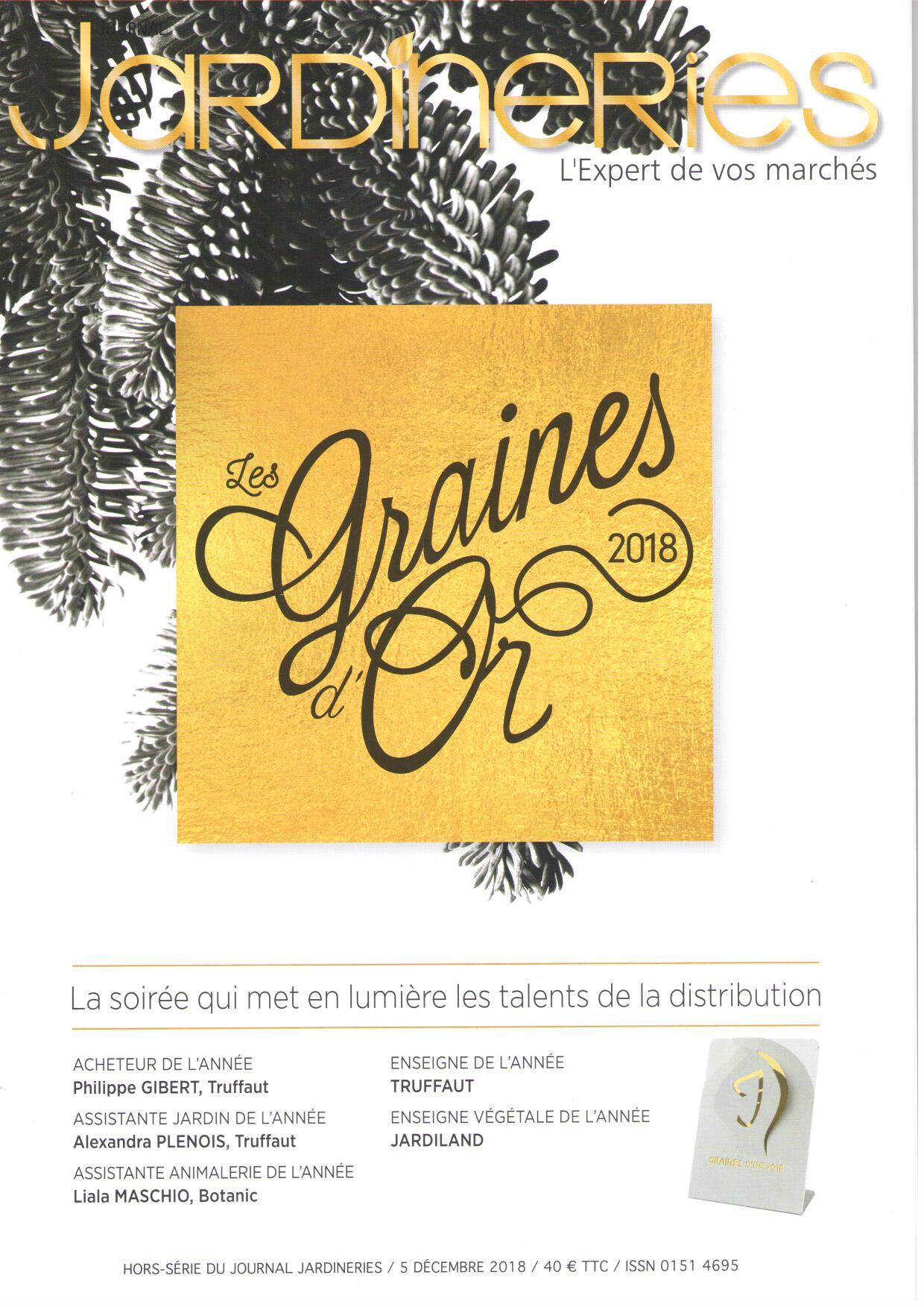 33Ème Cérémonie Des Graines D'or destiné Salon De Jardin Truffaut