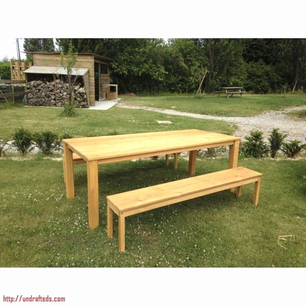 38 Génial Banc De Salon | Salon Jardin concernant Table De Jardin En Bois Avec Banc Integre