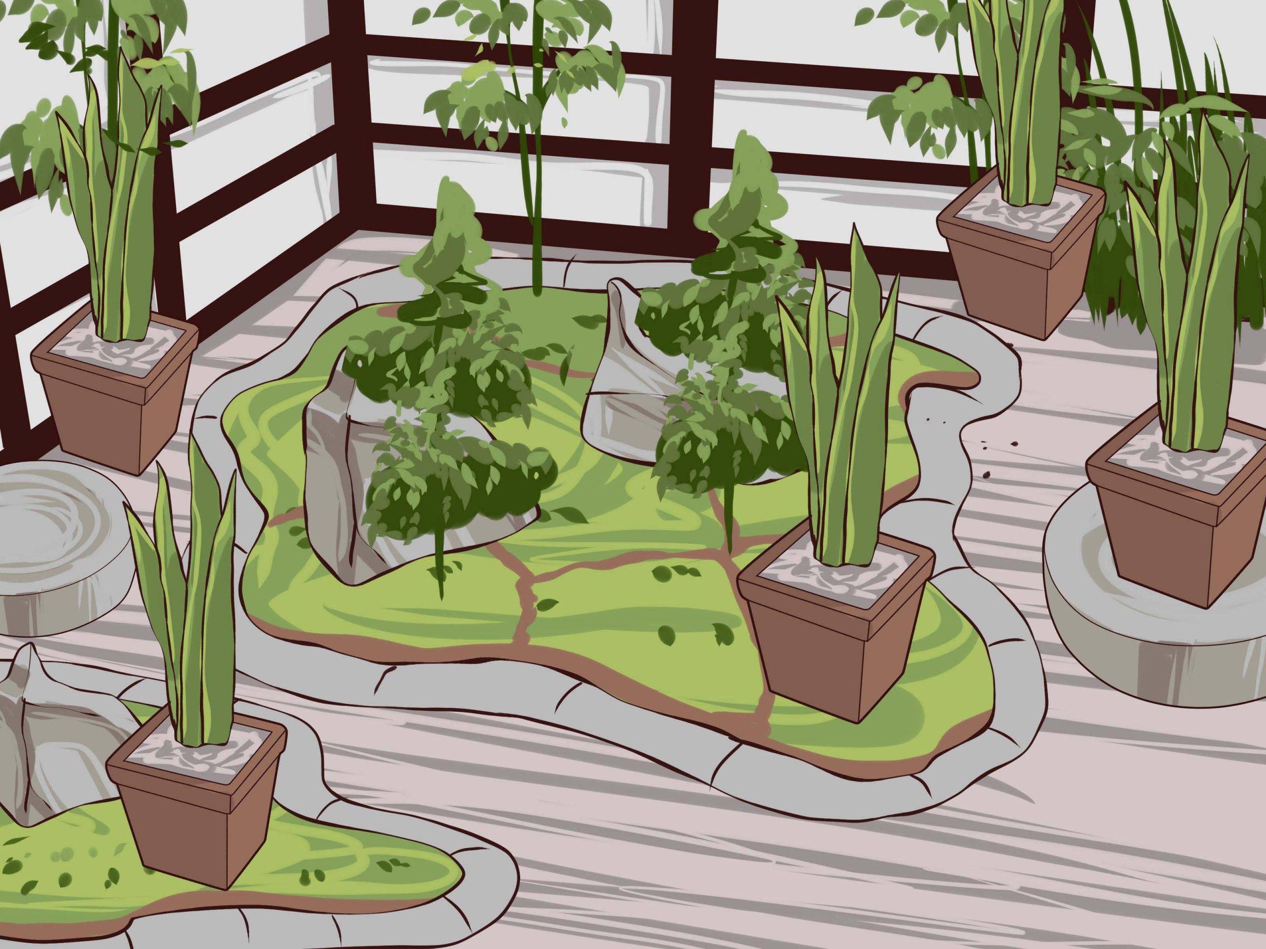4 Manières De Construire Un Jardin Japonais - Wikihow pour Faire Un Jardin Japonais Facile
