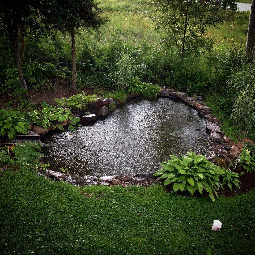 40 Beautiful Inspiring Garden Pond Design For Your Outdoor ... intérieur Accessoires Pour Bassin De Jardin