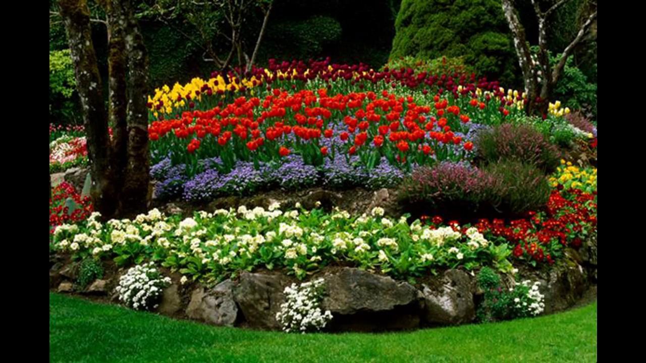 40 Idées Décoration Jardin Fleuri - avec Modèle De Jardin Fleuri