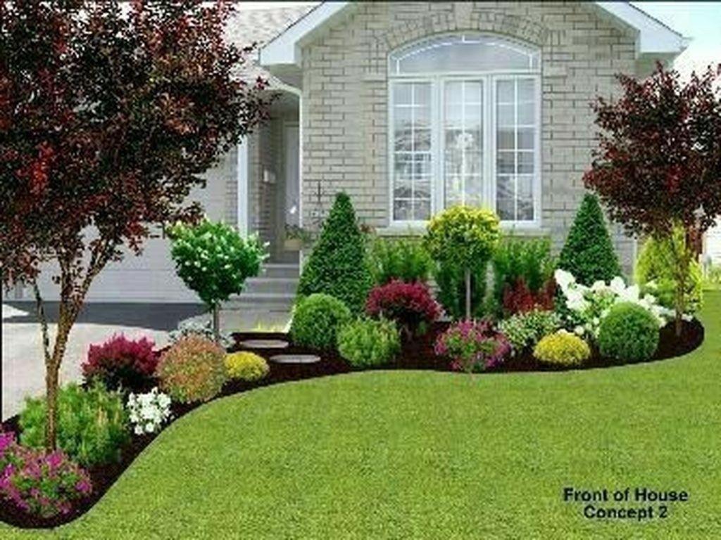 43 Magnificient Frontyard Landscaping Design Ideas | Idée ... avec Idée Allée De Jardin