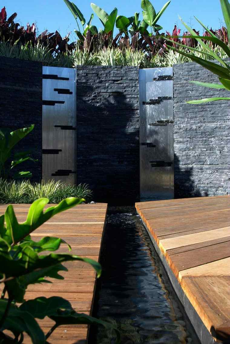 48 Idées D'un Mur D'eau Original Pour Votre Jardin à Amenagement Mur Jardin