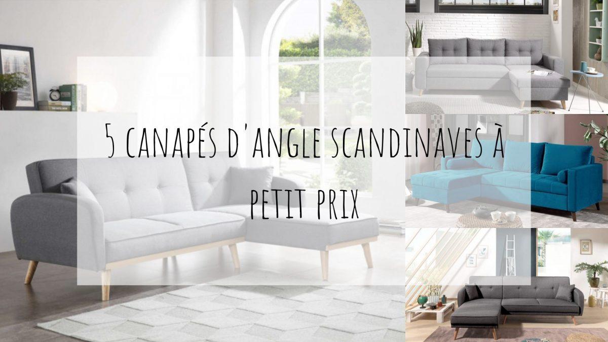 5 Canapés D'angle Scandinaves Pas Chers ! By Best Mobilier serapportantà Salon De Jardin D Angle Pas Cher
