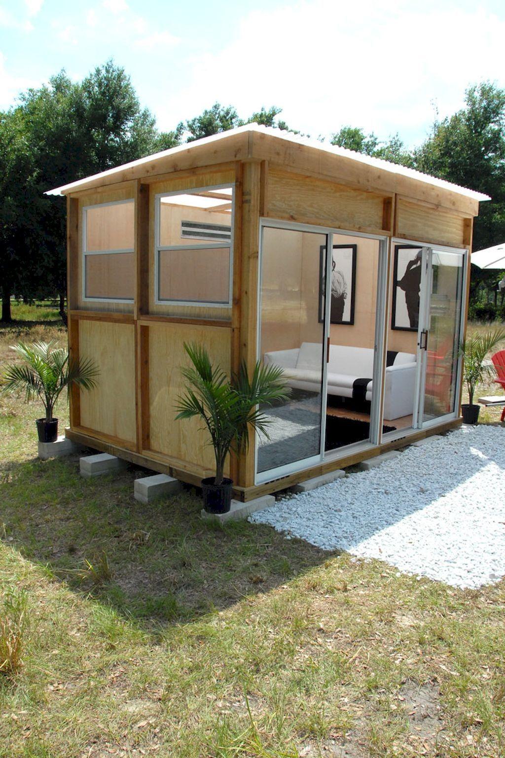 50+ Cold Diy Backyard Studio Shed Remodel Design & Decor ... intérieur Abri De Jardin Nice