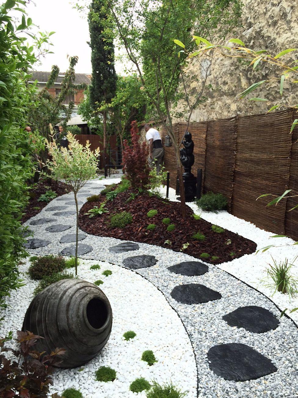 6 Jardins À Couper Le Souffle ! | Gravier Décoratif | Jardin ... concernant Idee Deco Jardin Gravier