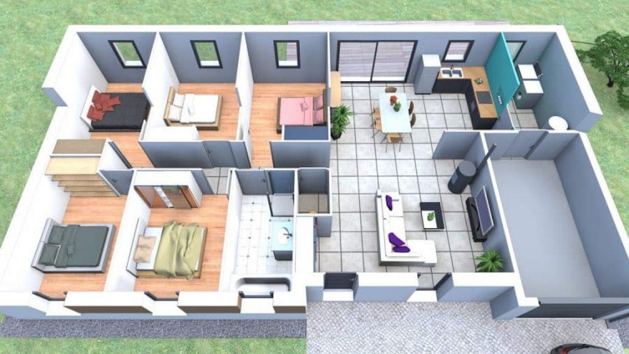6 Logiciels Gratuits Pour Son Plan De Maison + 5 ... encequiconcerne Créer Son Jardin En 3D Gratuit