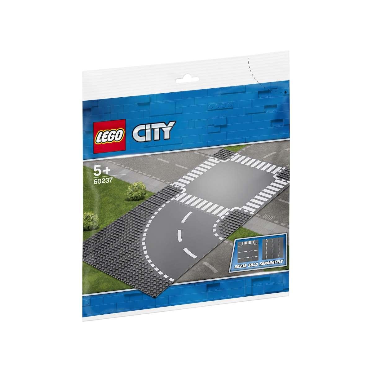 60237 Virage Et Carrefour, Lego(R) City concernant Tonnelle De Jardin Carrefour