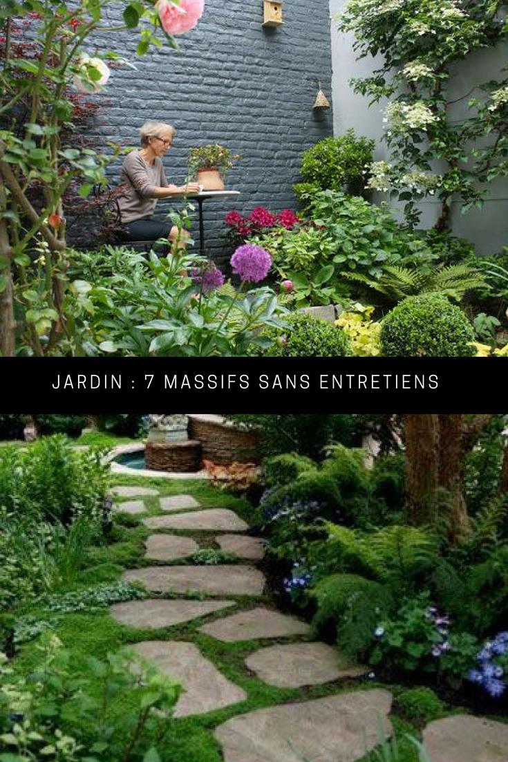7 Façons De Constituer Un Massif Sans Entretien   Jardins Du ... concernant Quelle Chaux Pour Le Jardin