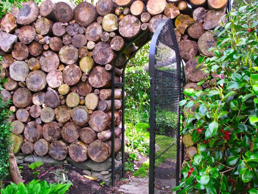 7 Idées De Clôtures Originales À Réaliser Soi-Même avec Petite Barriere Jardin