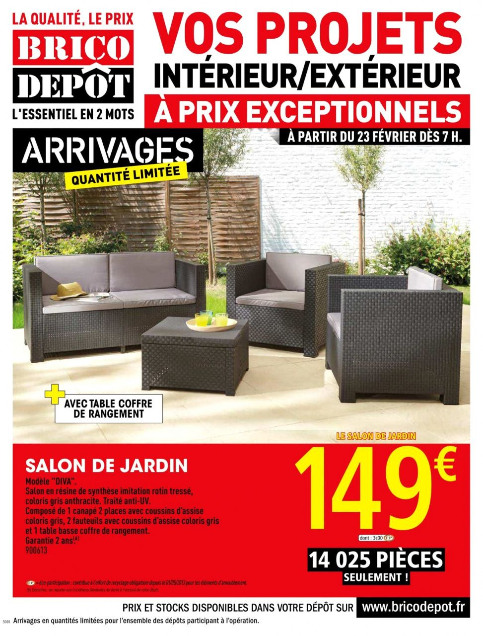 70 Salon De Jardin Allibert Brico Depot | Outdoor Furniture ... concernant Mobilier Jardin Brico Depot