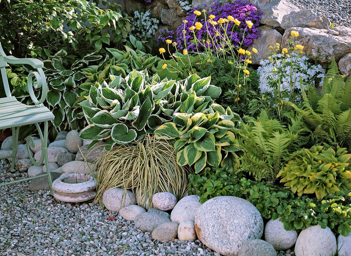 8 Bordures Pratiques Et Charmantes encequiconcerne Modeles Jardins Avec Galets