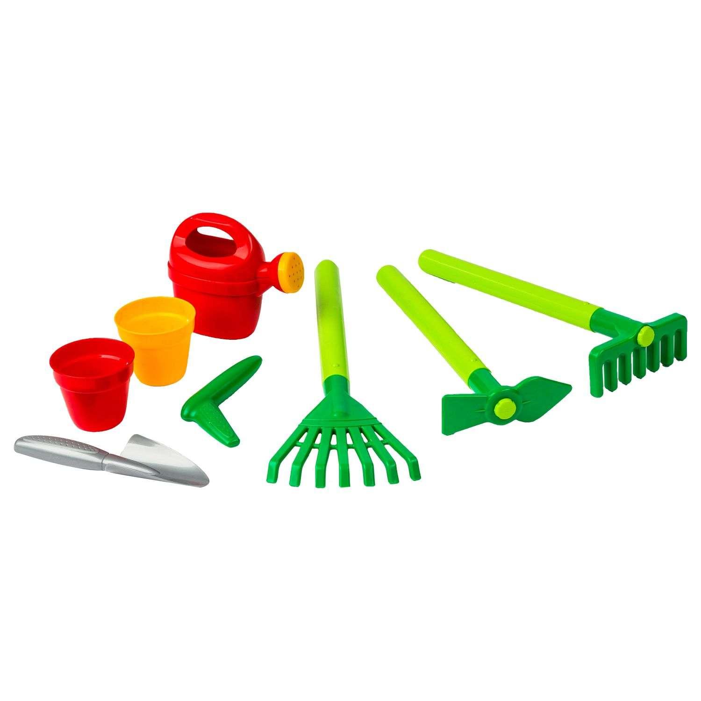 8 Outils De Jardinage Pour Enfant - Plastique - Multicolore avec Outil Jardin Enfant