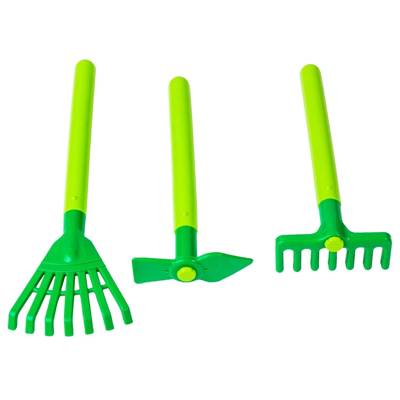 8 Outils De Jardinage Pour Enfant - Plastique - Multicolore destiné Outil Jardin Enfant