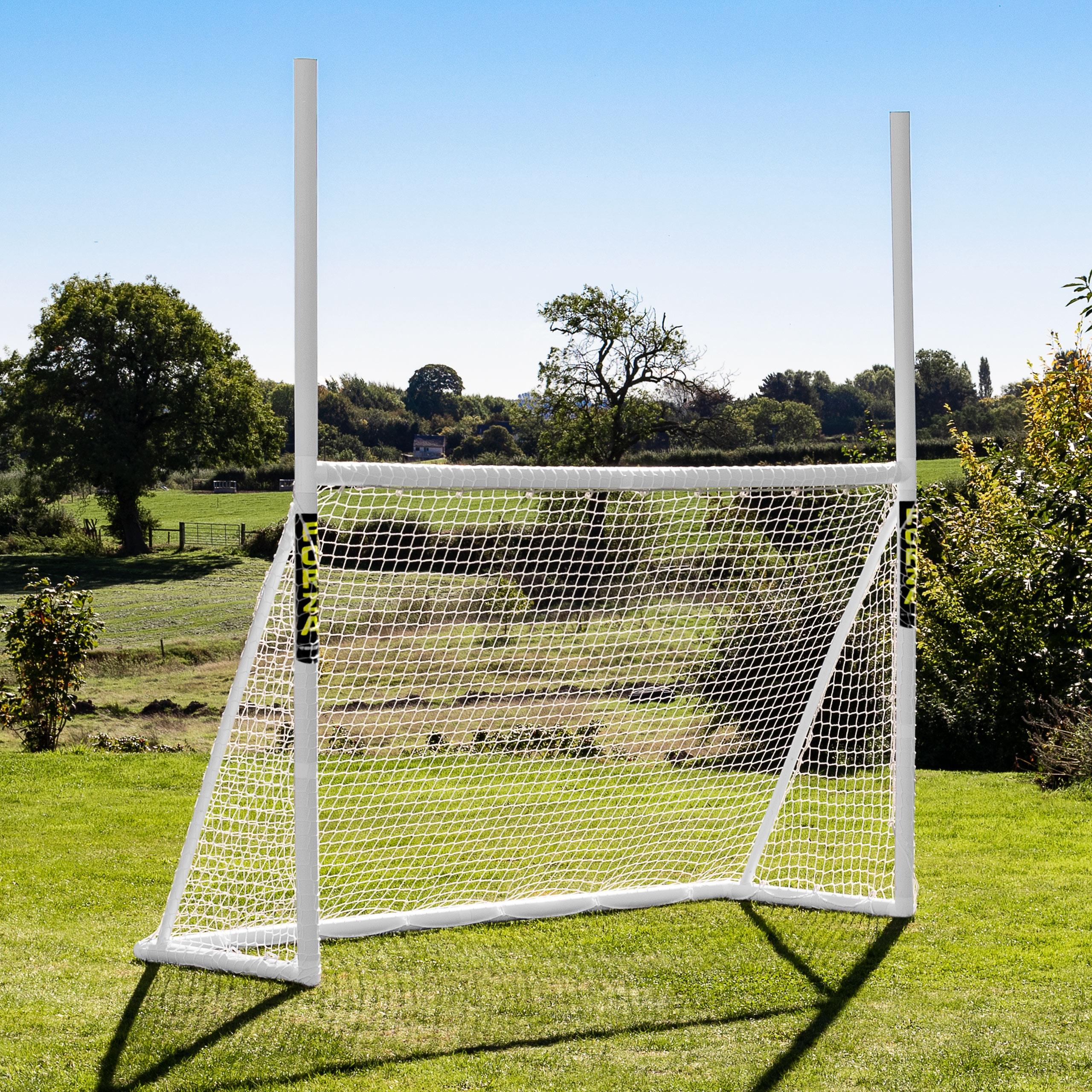 8 X 5 Forza Gaa Gaelic Football & Hurling Goal Posts dedans Goal De Foot Pour Jardin