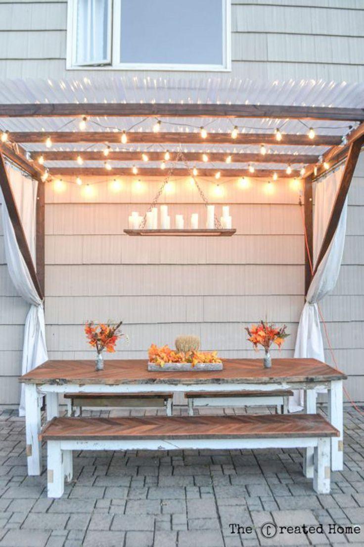 82 Diy Ideas To Beautify Your Backyard (Without Breaking The ... serapportantà Meubles Veranda Jardin