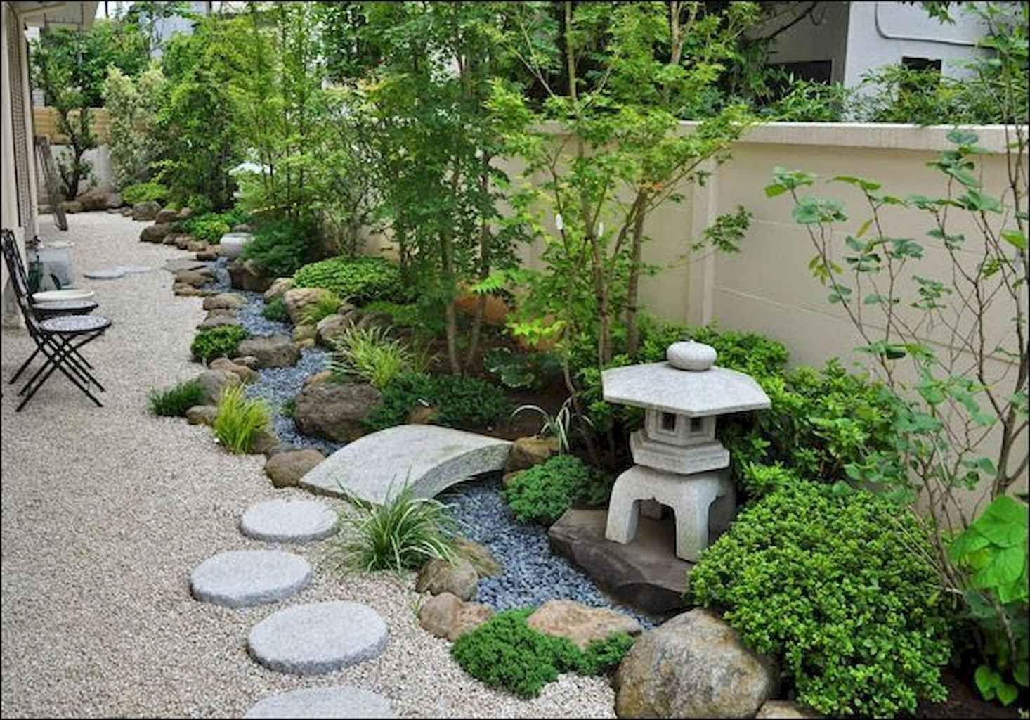 90 Beautiful Side Yard Garden Path Design Ideas #japangarden ... à Creer Un Jardin Sec