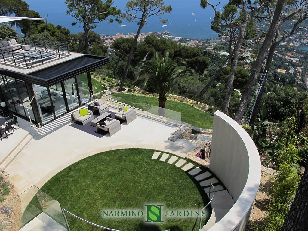 A Beatiful Villa Near Villefranche Sur Mer With Splendid ... dedans Les Jardins Des Villas
