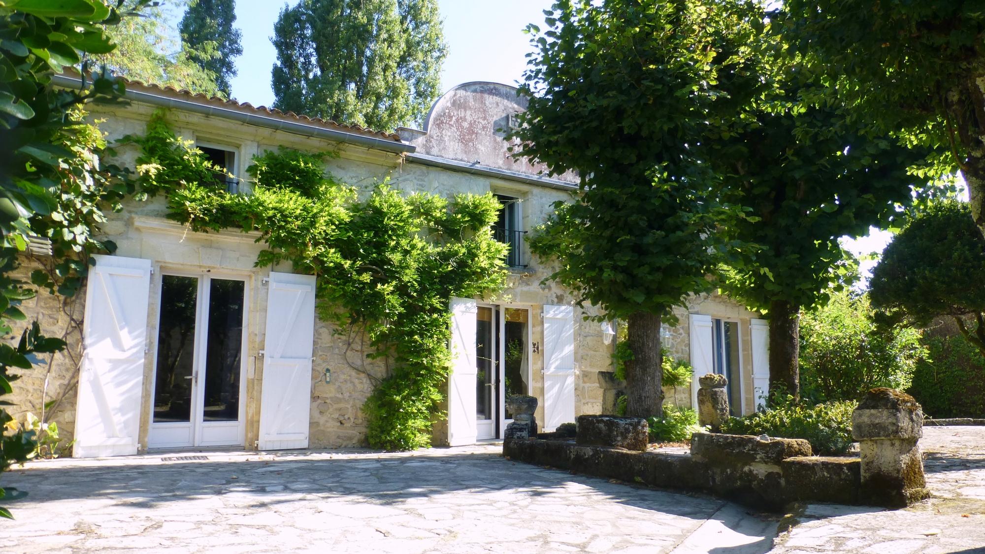 A Vendre 30 Km De Bordeaux - Ancien Relais De Poste - Agence ... à Serre De Jardin Ancienne A Vendre
